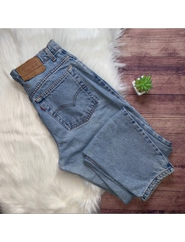 Vintage Levi's 550 High Waisted Mom Jeans 29 by Levi's