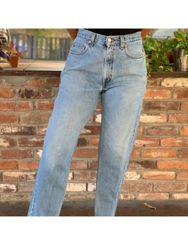 Vintage Levi's 550 High Waist Light Wash Jeans by Levi's