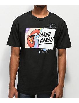 Dgk Gang Gang Black T Shirt by Dgk