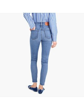 Tall Curvy Toothpick Jean With Button Fly by J.Crew