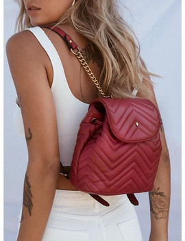 Peta & Jain Gypsy Backpack Red by Peta And Jain