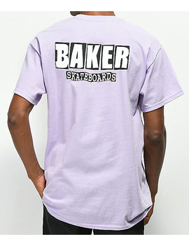 Baker Dubs Lavender T Shirt by Baker Skateboards
