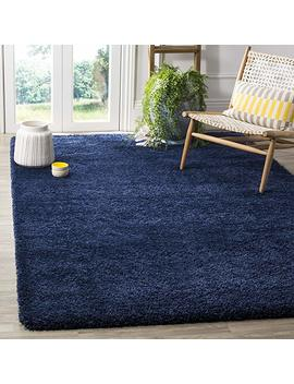 "Safavieh Milan Shag Collection Navy Area Rug (5'1"" X 8') by Safavieh"