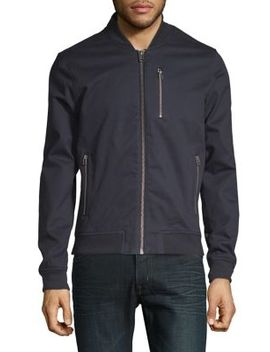 Twill Bomber Jacket by Topman