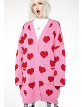 All My Heart Cardigan by Lazy Oaf