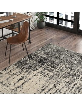 Trent Austin Design Lopp Black/Light Grey Area Rug & Reviews by Trent Austin Design