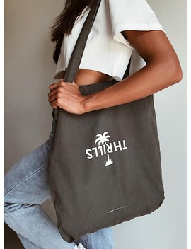 Thrills Palm Tote Vintage Black by Thrills