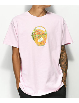 Create Peaches Pink T Shirt by Create Skateboards