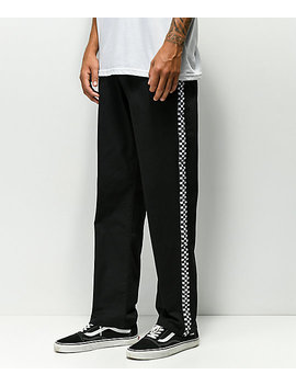 Scum Black & White Checkered Pants by Scum