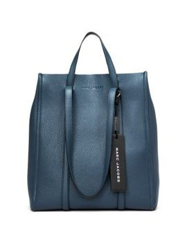 The Tag Leather Tote by Marc Jacobs