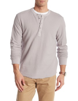 Campesina Double Cloth Thermal Henley by Grayers