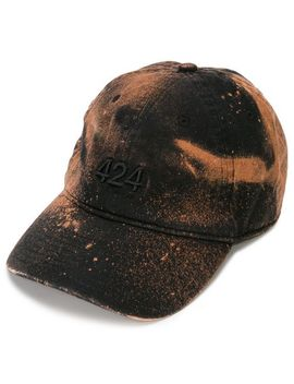 Stained Effect Cap Hat by 424
