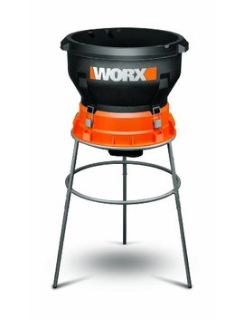 Worx 13 Amp Electric Leaf Mulcher With 11:1 Mulch Ratio And Fold Down Compact Design – Wg430 by Worx