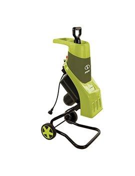 Sun Joe Cj602 E 15 Amp Electric Wood Chipper/Shredder, Green by Sun Joe