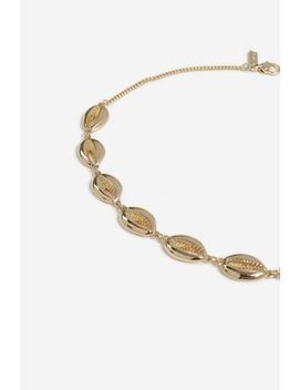 **Metal Shell Choker by Topshop