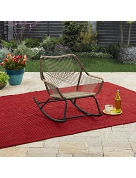 Better Homes & Gardens Satilla Outdoor Rocking Chair by Better Homes & Gardens