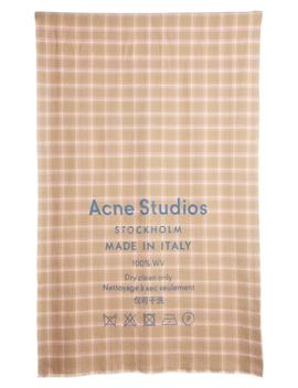 Cassiar Check Scarf by Acne Studios