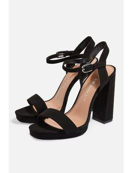 **Wide Fit Sabine Platform Sandals by Topshop