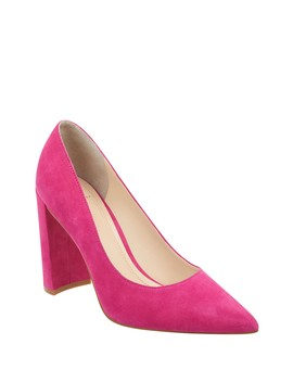 Elia Suede Pump by Marc Fisher Ltd
