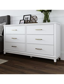 Cosmo Living By Cosmopolitan Westerleigh 6 Drawer Double Dresser & Reviews by Cosmo Living By Cosmopolitan