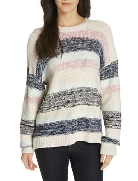 Marelda Stripe Oversize Sweater by Joie