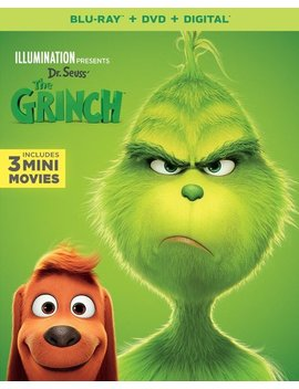 Ay/Dvd] [2018] by Illumination Presents: Dr. Seuss' The Grinch [Includes Digital Copy] [Bl