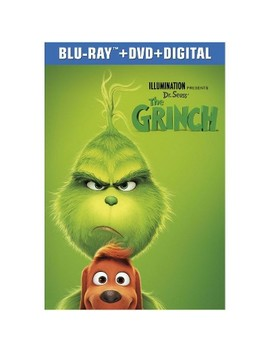 Dr. Seuss' The Grinch (Blu Ray + Dvd + Digital) by Target