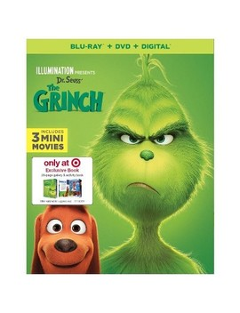 Dr. Seuss' The Grinch (Target Exclusive) (Blu Ray + Dvd + Digital) by Target
