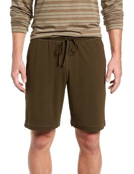 Stretch Cotton & Modal Lounge Shorts by Daniel Buchler