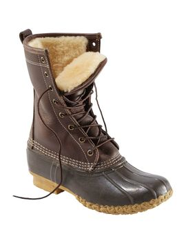 "Women's Bean Boots By L.L.Bean®, 10"" Shearling Lined by L.L.Bean"