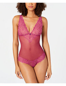 B. Charming Mesh And Lace Bodysuit 936232 by B.Tempt'd By Wacoal