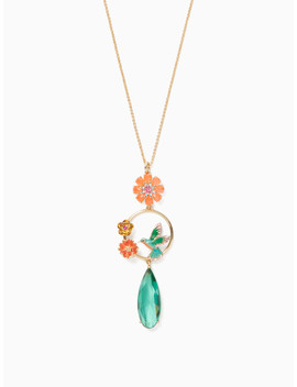 Scenic Route Hummingbird Pendant by Kate Spade