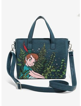 Loungefly Disney Peter Pan Leaves Mini Tote Bag by Hot Topic