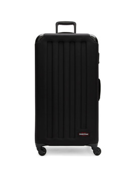 Black Large Tranzshell Suitcase by Eastpak