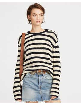 Striped Rollneck Sweater by Ralph Lauren