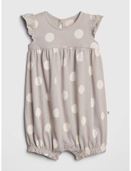 Organic Dot Shorty One Piece by Gap