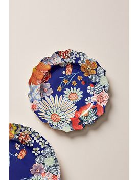 Francoise Dessert Plates, Set Of 4 by Anthropologie