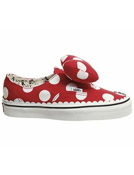 Vans Disney Authentic Minnie's Bow Red Sneakers by Vans
