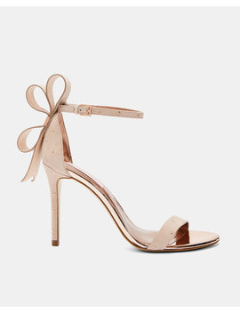 Oversized Bow Sandals by Ted Baker