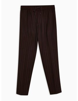 Striped Skinny Cropped Trousers by Topman