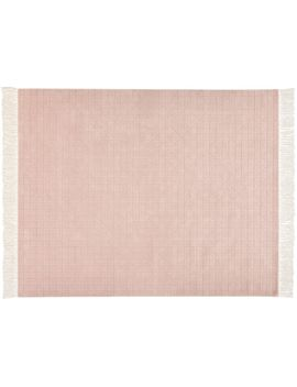 Divvy Dusty Pink Rug 8'x10' by Crate&Barrel