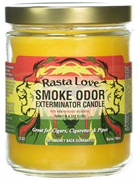 Smoke Odor Exterminator 13oz Jar Candle, Rasta Love (1), 13 Oz by Smoke Odor Exterminator