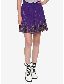 Disney Aladdin Agrabah Border Print Chiffon Skirt by Hot Topic