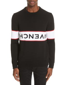 Upside Down Logo Sweater by Givenchy