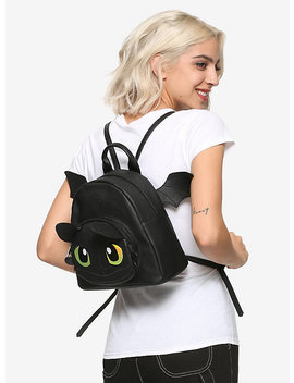 How To Train Your Dragon: The Hidden World Toothless Mini Wing Backpack by Hot Topic