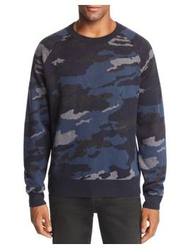 Quaezar Camouflage Patterned Sweater   100 Percents Exclusive by J Brand