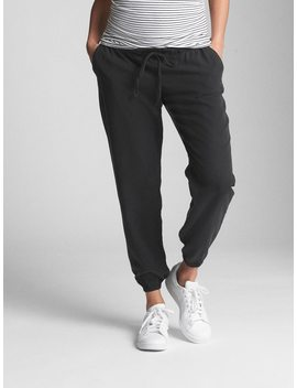 Maternity Drawstring Joggers In Tencel™ by Gap