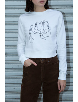 Tommy Dancing Skeleton Sweatshirt by Brandy Melville