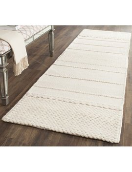 Safavieh Natura Avery Solid Striped Braided Area Rug Or Runner by Safavieh