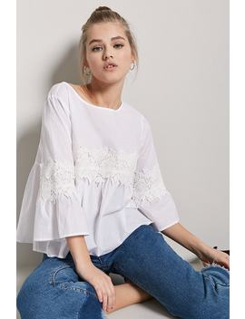Blusa Croché   Contemporary by F21 Contemporary